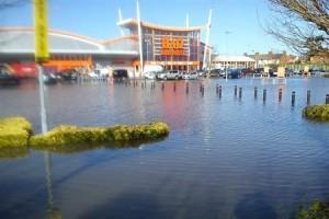 Flooded B&Q